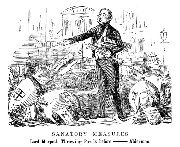 Lord Morpeth in 1848