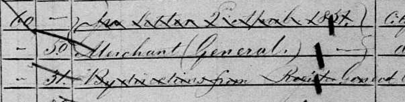 Daniel Fripp 1851 census